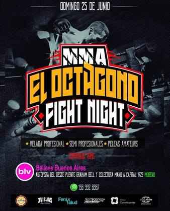 El Octagono Fight Night 1