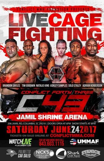 Conflict MMA 43