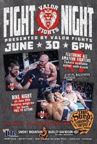 Fight Night at the Shed