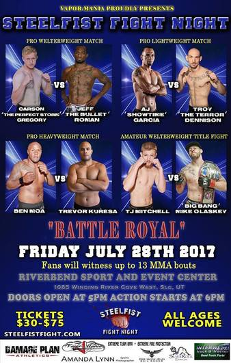 SteelFist Fight Night 51
