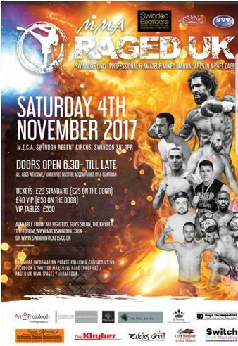 Raged UK 7 | MMA Event | Tapology