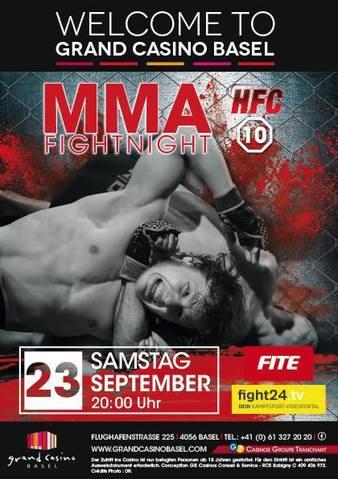 Hard Fighting Championship 10