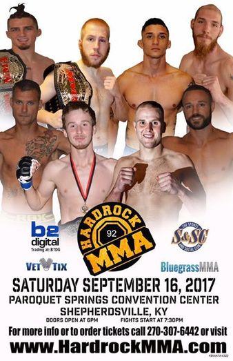 Hardrock MMA 92