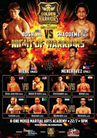 Golden Warriors Fighting Championship