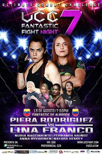 UCC Fantastic Fight Night 7