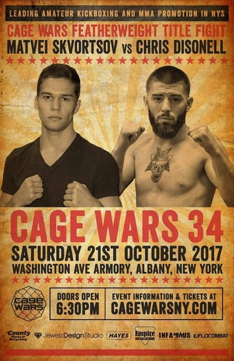 Cage Wars 34