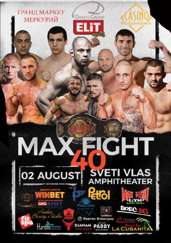 Max Fight 40