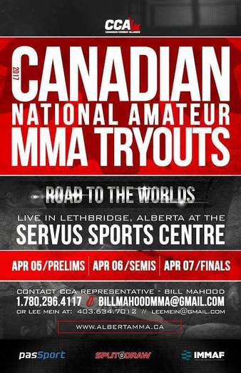 Canadian National Amateur MMA Tryouts