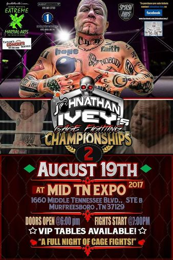 Johnathan Ivey's Cage Fighting Championships 2