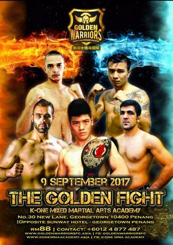 Golden Warriors Fighting Championship 2