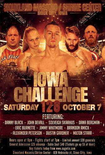 Iowa Challenge 128