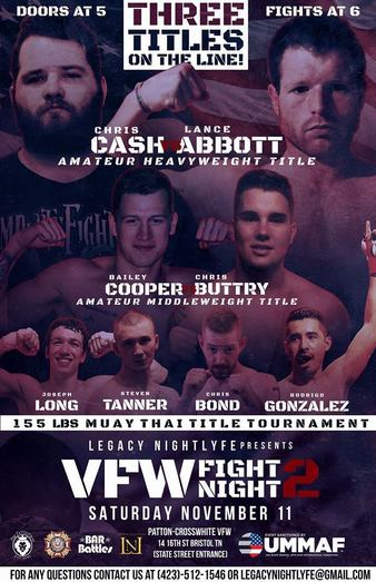 VFW Fight Night 2