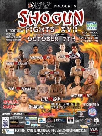 Shogun Fights 17