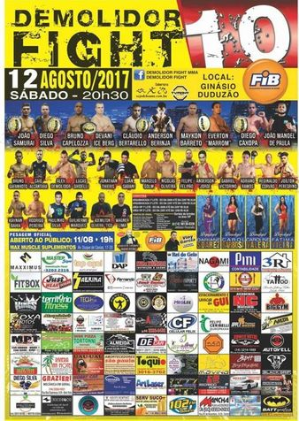 Demolidor Fight 10
