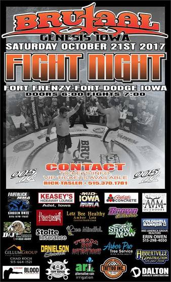 Brutaal Genesis Fight Night