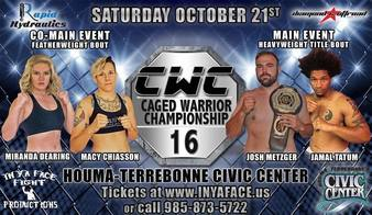 Caged Warrior Championship 16