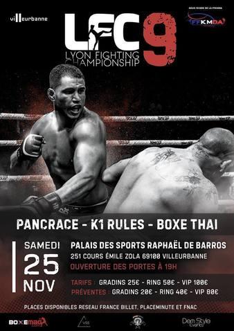 Lyon Fighting Championship 9