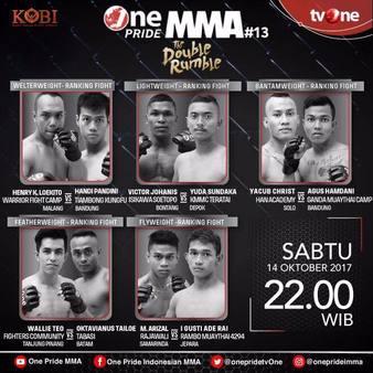 One Pride MMA 13 10/14