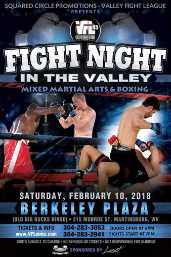 Valley Fight League 45