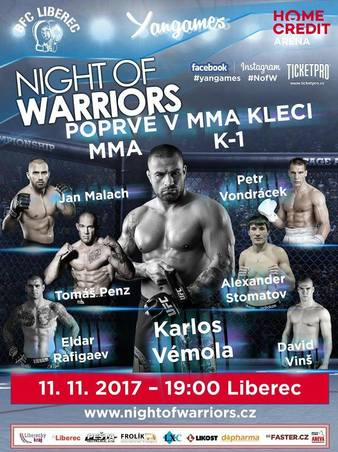 Night of Warriors 12