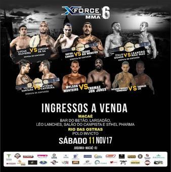 X-Force MMA 6