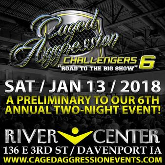 Caged Aggression Challengers 6