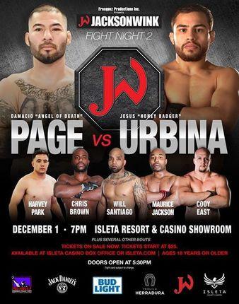 JacksonWink Fight Night 2