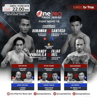 One Pride MMA Fight Night 16
