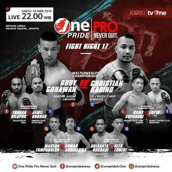 One Pride MMA Fight Night 17