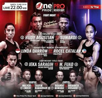 One Pride MMA Fight Night 19