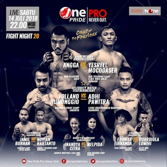 One Pride MMA Fight Night 20