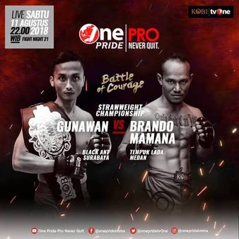 One Pride MMA Fight Night 21