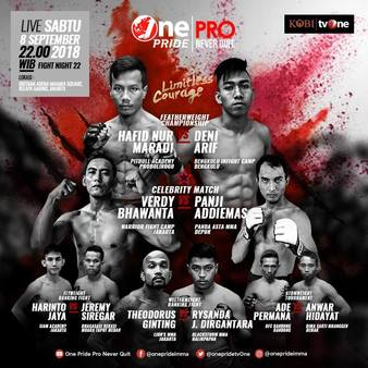 One Pride MMA Fight Night 22