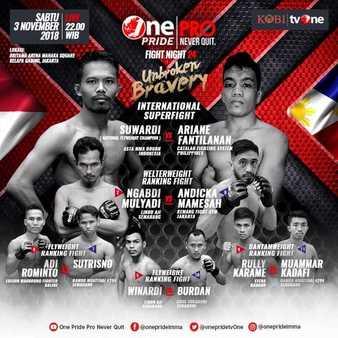 One Pride MMA Fight Night 24