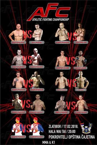 Athletic Fighting Championship 1
