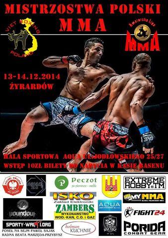 Mistrzostwa Polski MMA 2014