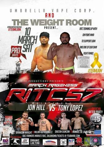 Rage in the Cage OKC 57