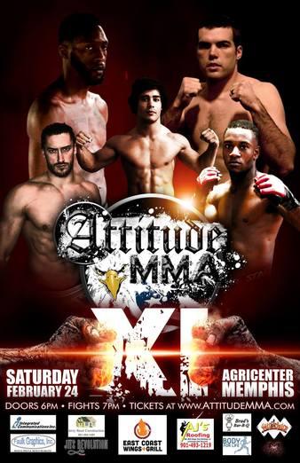 Attitude MMA Fights 11