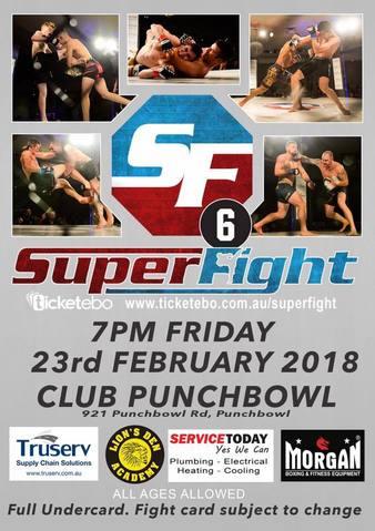 Superfight MMA 6