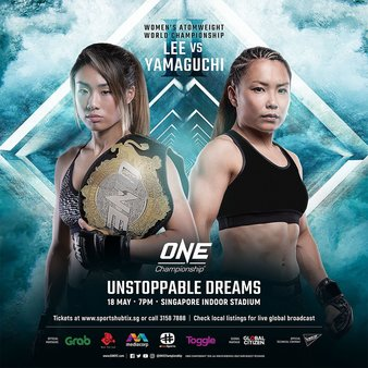 ONE Championship: Unstoppable Dreams - May 18 DZ7hzPiV4AAML1N