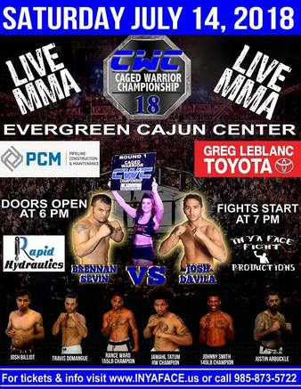 Caged Warrior Championship 18