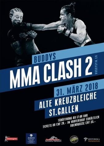 Buddy MMA Clash 2