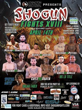 Shogun Fights 18