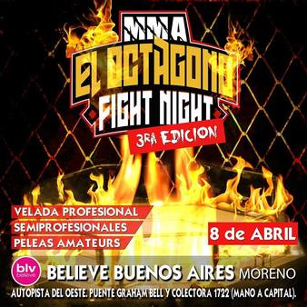 El Octagono Fight Night 3