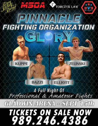 PFO: Glory | MMA Event | Tapology