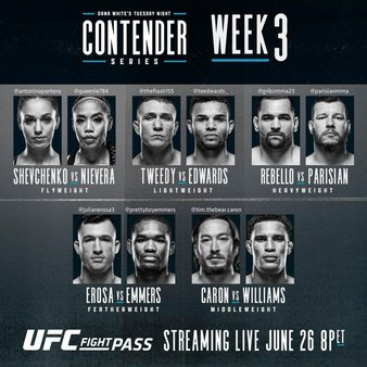 DW's Contender Series 2018