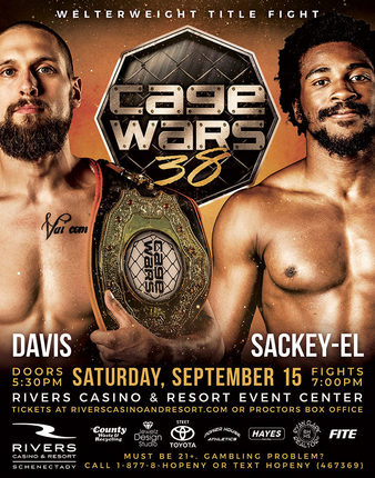 Cage Wars 38