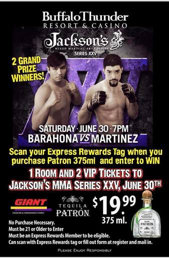 Jackson's MMA Series 25