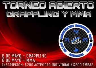 Torneo Abierto Grappling y MMA