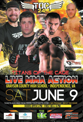 Titans of the Cage 24